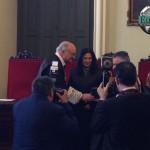 Entrega de la medalla de honor del ICAM al Turno de Oficio